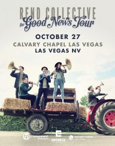 Rend Collective The Good News Tour